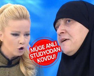 Müge Anlı stüdyodan kovdu!