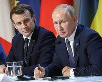 Rusya Devlet Başkanı Putin ve Macron Dağlık Karabağ'daki durumu görüştü