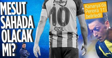 Fenerbahçe'de Mesut Özil oynayacak mı? İşte Vitor Pereira'nın Alanyaspor maçı 11'i