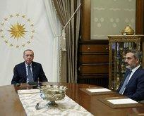 Başkan Erdoğandan önemli kabul