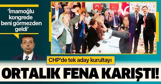 CHP'de tek aday kurultayı! Ortalık fena karıştı