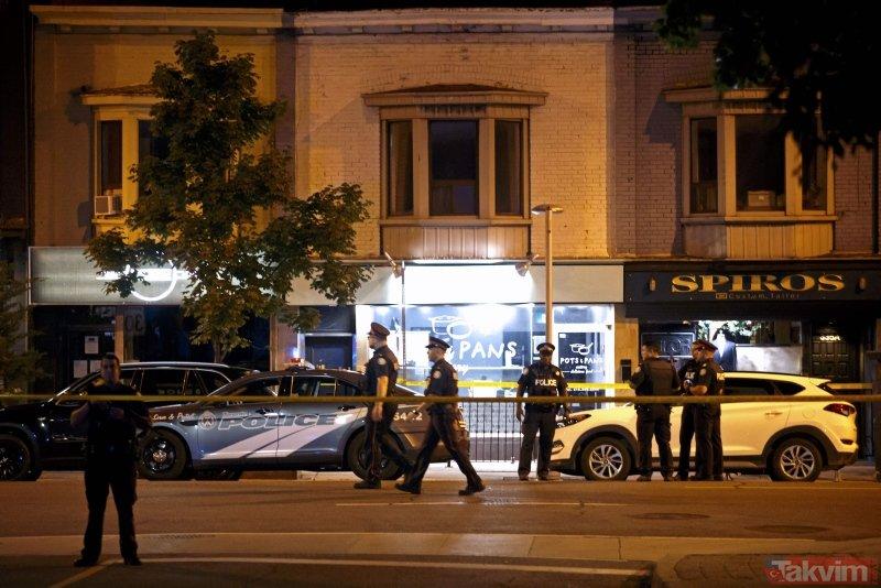 Kanadada silahlı saldırı: 2 ölü 13 yaralı