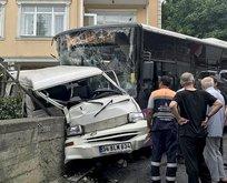 Üsküdar'da korkunç kaza!
