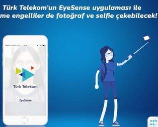 Görme engelliye EyeSense kolaylığı