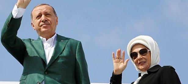 Erdoğan, eşi Emine Erdoğanı Twitterda takibe başladı