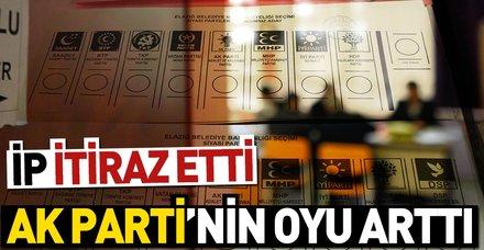 Uşak'ta geçersiz oyların sayımı tamamlandı | AK Parti'nin oyları arttı