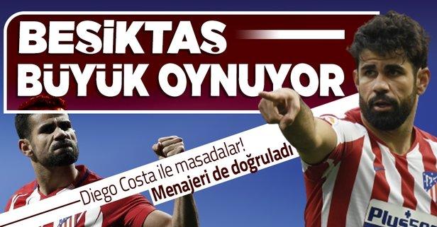 Diego Costa sürprizi