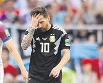 Arjantin duvarı aşamadı