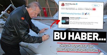 Selçuk Bayraktar'tan Kandil'deki operasyona çarpıcı yorum: Bu haberde tam bağımsız güçlü Türkiye var
