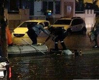 Antalya'yı yağış vurdu!
