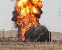 DEAŞ Kerkük'te petrol kuyusuna saldırdı!