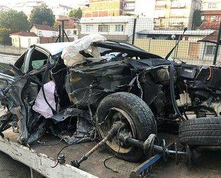 Korkunç kaza! 120 kilometre hızla gelen ölüm