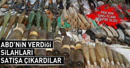 PKK/PYD-YPG, ABDnin verdiği silahları karaborsada satıyor