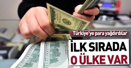 Merkez Bankası açıkladı! Türkiye'ye para yağdırdılar