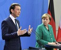 Merkelden Kurza tokat gibi sözler