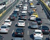 Trafikteki araç sayısı 25 milyonu aştı