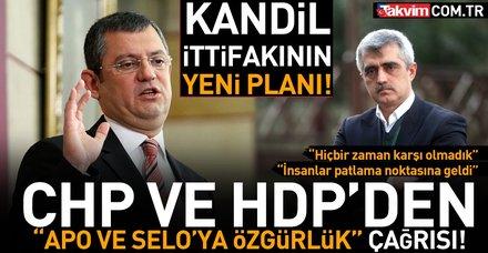 """Kandil ittifakının üyeleri CHP ve HDP """"Apo ve Selo'ya özgürlük için"""" yeni bir kirli ittifak peşinde"""