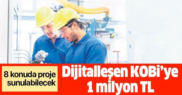 Dijitalleşen KOBİ'ye 1 milyon TL