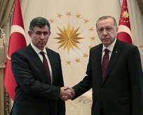 Başkan Erdoğan, Feyzioğlu'nu kabul etti