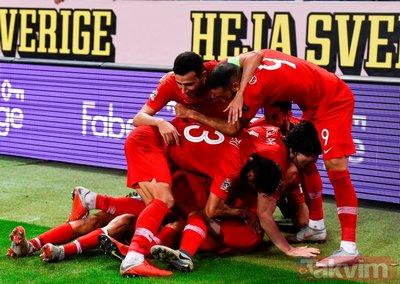 Milliler 2008 ruhuyla I İsveç: 2 - Türkiye: 3 (MAÇ SONUCU)