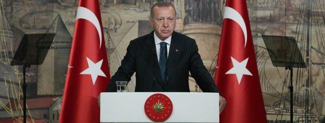 Başkan Erdoğan yabancı basın mensuplarıyla buluştu