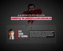 6-8 Ekim olaylarında Demirtaş'ın çağrısıyla katledilenler