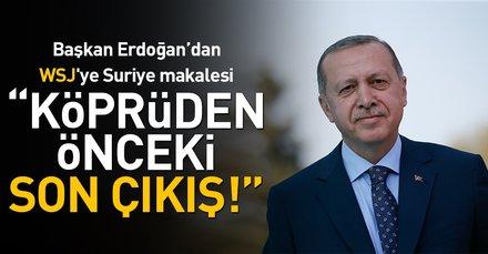 Son dakika: Erdoğan ABD medyasına yazdı: Terörle mücadele adına siviller kurban edilemez