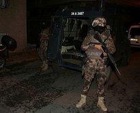 Terör örgütü PKK'ya gece yarısı baskını!