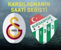 Galatasaray - Bursaspor maçı ne zaman?