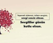 Sevgiliye güzel sözler! Sevgililer Günü mesajları uzun anlamlı! İşte en güzel 14 Şubat resimli Sevgililer Günü mesajı!