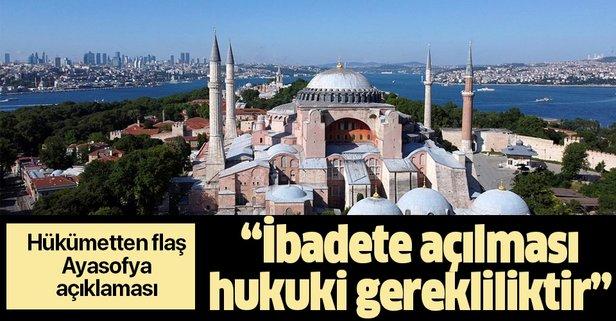 Bakan Gül'den flaş Ayasofya açıklaması