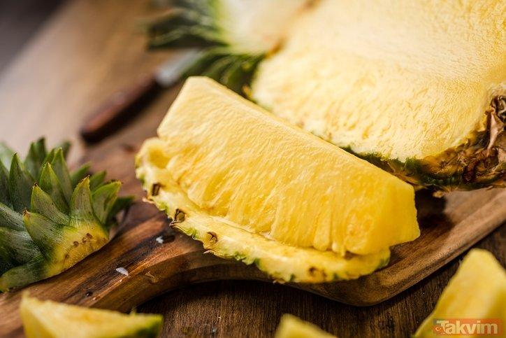 Ananasın faydaları neler? Ananas hafızayı güçlendiriyor mu?