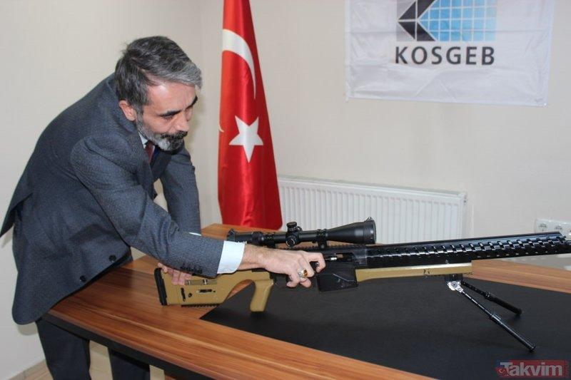 Yüzde 100 yerli ve milli 'sniper'! Başkan Erdoğan'a teslim edilecek