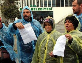 CHP'ye geçen Bolu Belediyesi'nden kovulan işçiler oturma eylemi başlattı