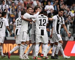 Juventus zafere ulaştı
