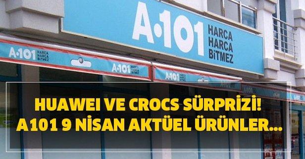 Huawei ve Crocs sürprizi! A101 9 Nisan aktüel ürünler...