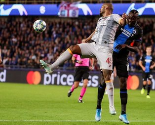 Club Brugge - Galatasaray maçına damga vuran an