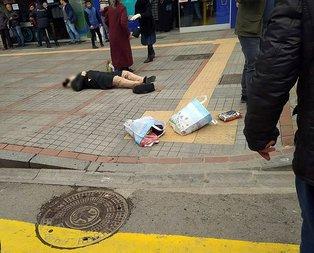 Rize'de sokak ortasında vahşet! Başından vurdu