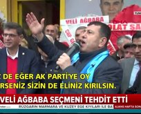 CHP Veli Ağbaba'dan skandal tehdit