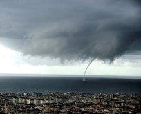 Antalya'da eğitime hortum ve fırtına engeli