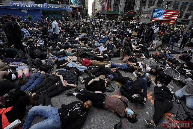 George Floyd'un olaylarında gazetecilerde mağdur oldu! Aralarında TRT muhabirlerinin bulunduğu 60'dan fazla gazeteci şiddet gördü