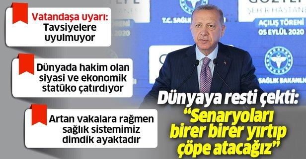 Göztepe Şehir Hastanesi Erdoğan'ın katılımıyla açıldı