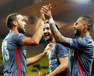 Beşiktaşın Monaco zaferi Fransız basınında!