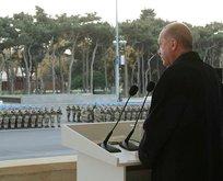 Erdoğan'dan Aliyev'i duygulandıran sözler!