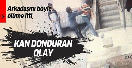 Son dakika: Beyoğlu'nda kan donduran olay! 11 yaşındaki arkadaşını ölüme itti!