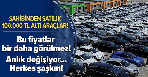 100 bin TL altı satın alabileceğiniz araç modelleri!