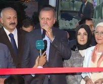 Başkan Erdoğan açılış törenine katıldı