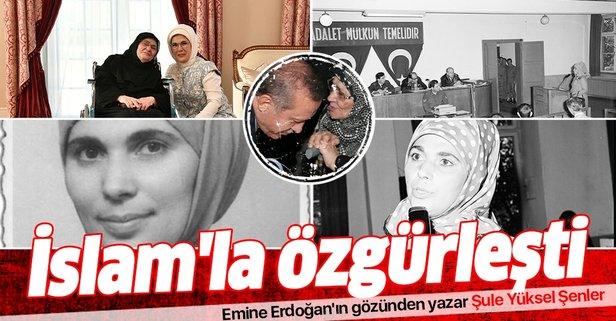 Emine Erdoğan'ın gözünden yazar Şule Yüksel Şenler