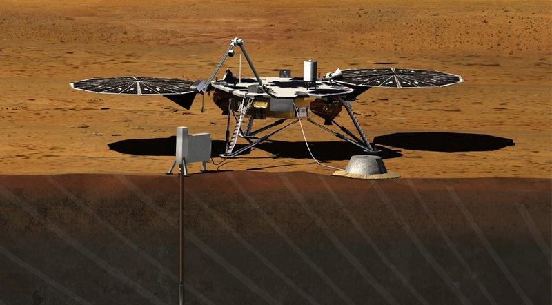 Marsın sırlarını çözecek InSight fırlatılıyor