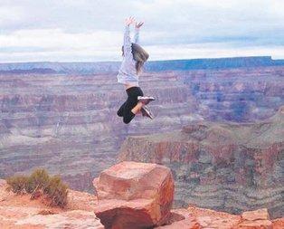Ceyda uçtu!